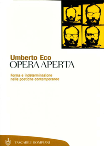 Opera aperta Copertina del libro