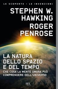 La natura dello spazio e del tempo Book Cover