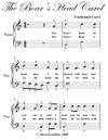 Boars Head Carol Easiest Piano Sheet Music