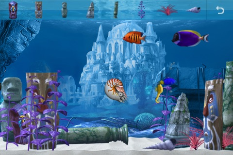 Colorful Aquarium screenshot-3