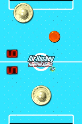 Air Hockey Fingertip Sports Lite screenshot-4