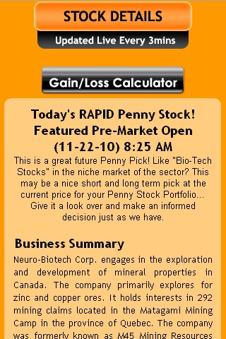 Rapid Penny Stock Chaser