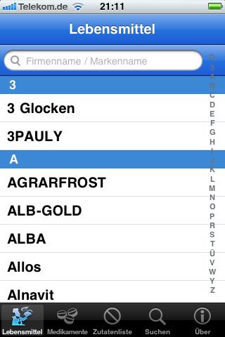 Laktosefrei screenshot 1