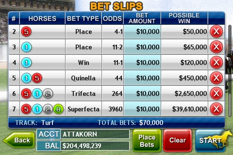 Virtual Horse Racing 3D screenshot-3