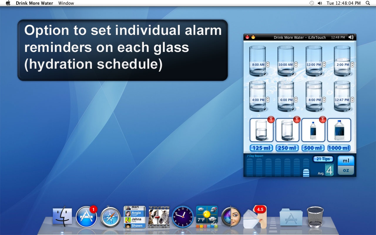 Drink More Water on the MacAppStore