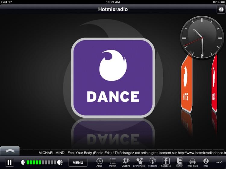 Hotmixradio iPad Edition screenshot-4