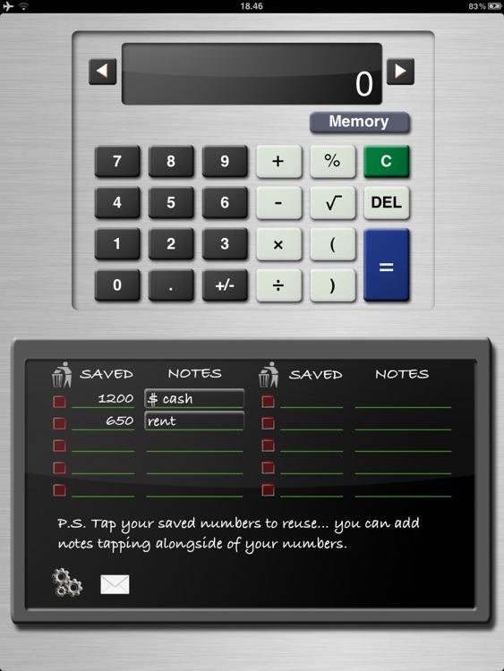 Calculator HD - CalcPad screenshot-3