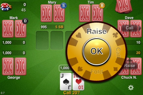 THTouch - Texas Holdem Poker screenshot-2