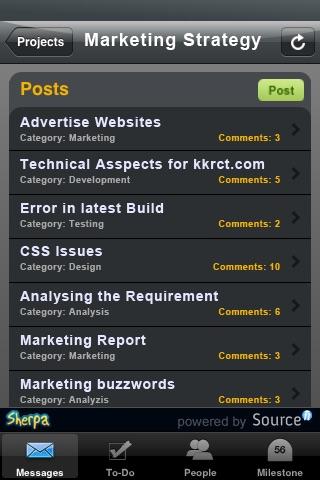 Sherpa - A Basecamp Companion screenshot-3