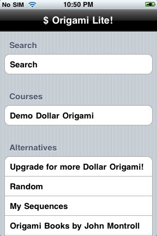 Dollar Origami Lite screenshot-4
