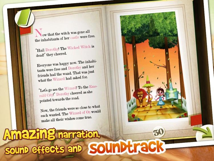 The Wizard of Oz: Interactive 3D Pop Up Book screenshot-4