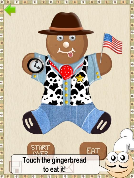 Gingerbread Fun! HD - Free Edition screenshot-3