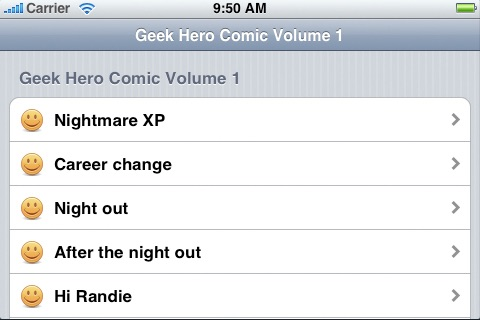 Vol 01: Geek Hero Comic screenshot-3