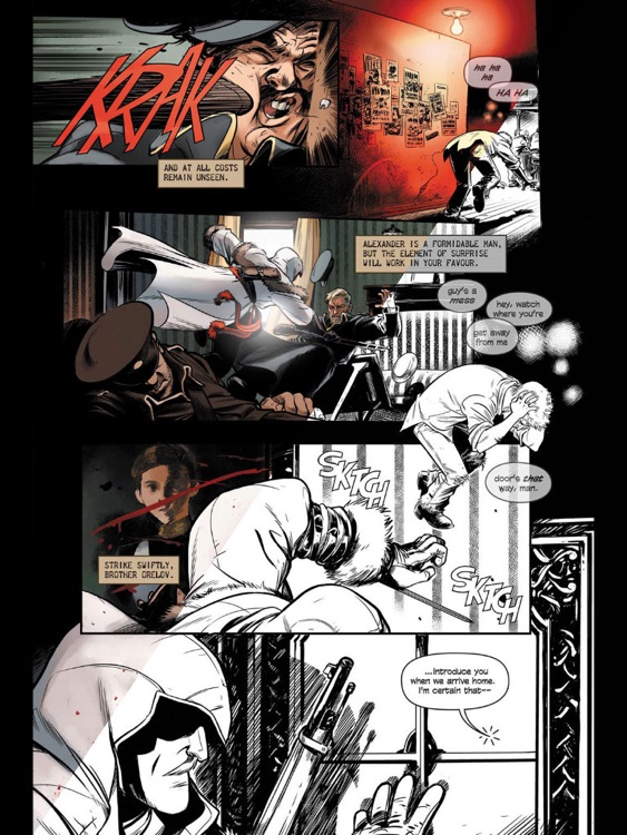 Assassin's Creed Comics screenshot-1