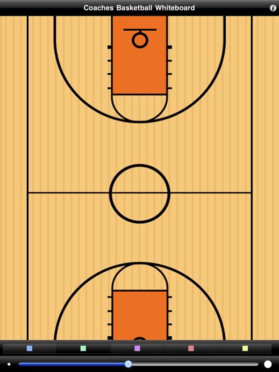 Coaches Basketball Wipeboard