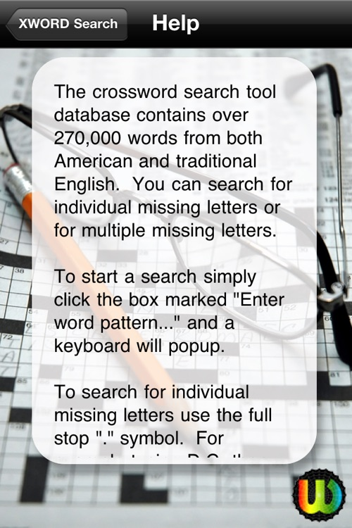 A CrossWORD Search Tool screenshot-4