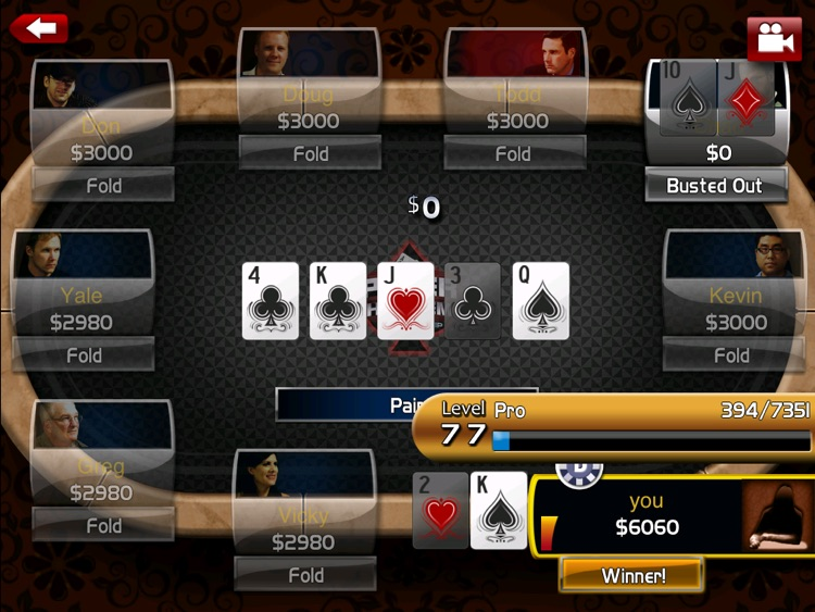 Poker: Hold'em Championship HD screenshot-4