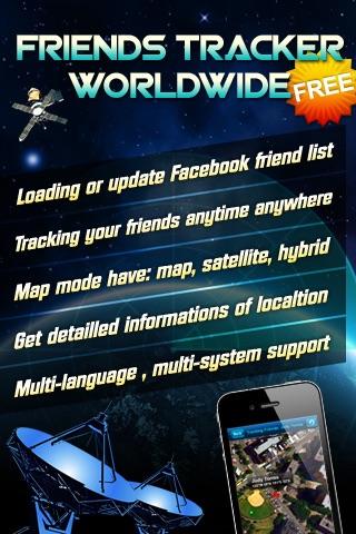All Friends Tracker Worldwide FREE - For Facebook