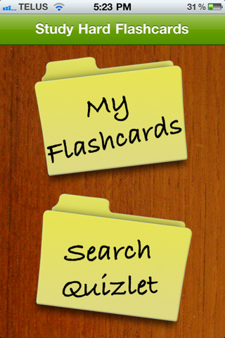 Screenshot #1 pour Study Hard Flashcards Lite