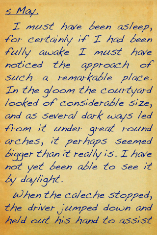 an analysis of the diary form narrative in dracula a novel by bram stoker With characteristic subtlety, bram stoker introduces the titular character in his novel dracula the blood-gutted king of vampires first appears as completely colorless such appearance-versus-reality descriptions are one of several devices stoker uses in his remarkable narrative technique.