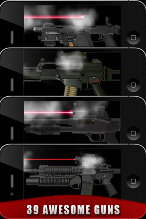 Gun Smoke 39 Guns 1 gunapp screenshot-0