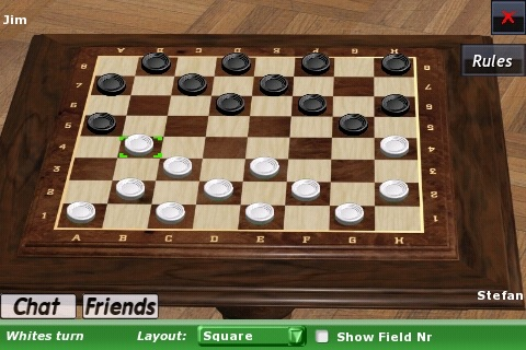 Checkers Online Lite