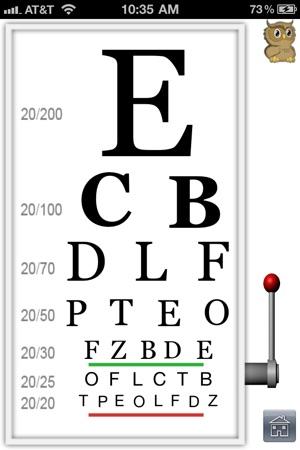 EyesTest Screenshot