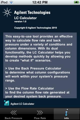 Screenshot of LC Calculator