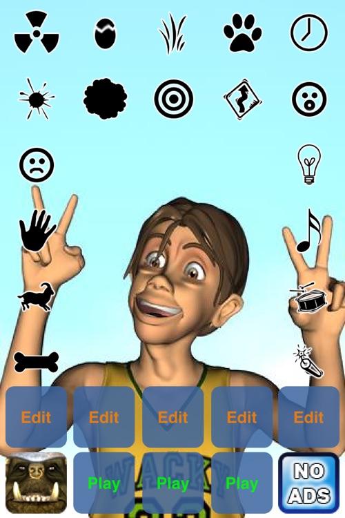 3D Talking Soundboard