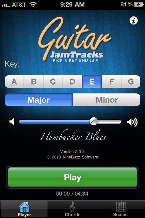 Guitar Jam Tracks: Humbucker Blues
