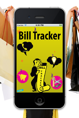 Bill Tracker HD Lite screenshot one