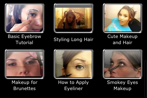Easy Makeup and Hair: See How to Apply Makeup and New Hairstyles