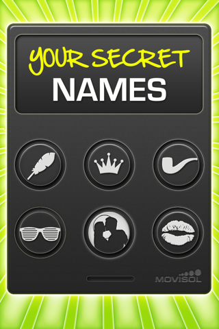 Screenshots of Your Secret Names for iPhone