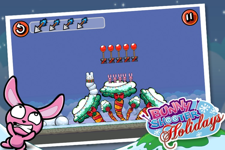Bunny Shooter Christmas - a Free Game by the Best, Cool & Fun Games screenshot-4
