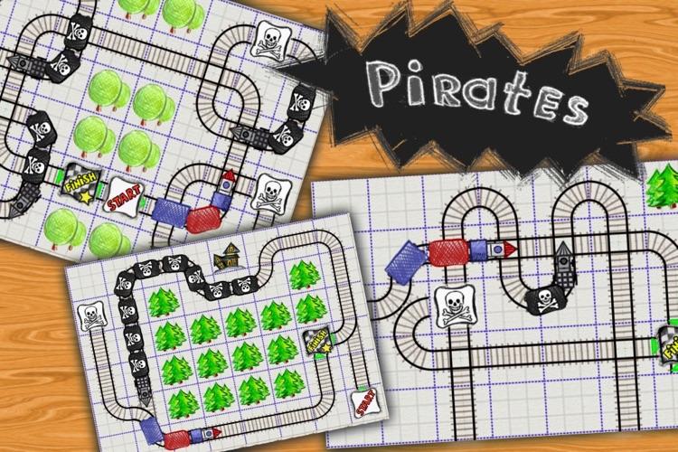 Doodle Train - Railroad Puzzler screenshot-4
