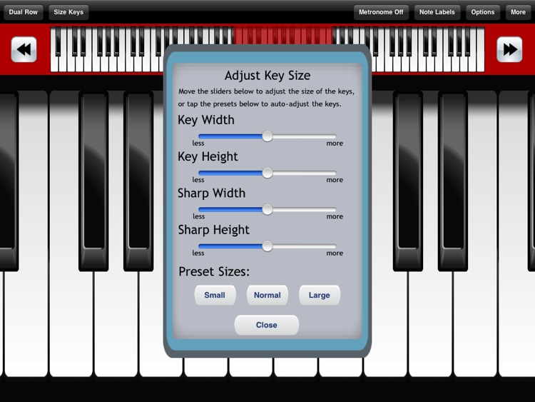 Pocket Piano HD screenshot-4