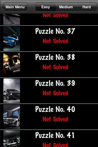 Cars Puzzle Lite screenshot-3