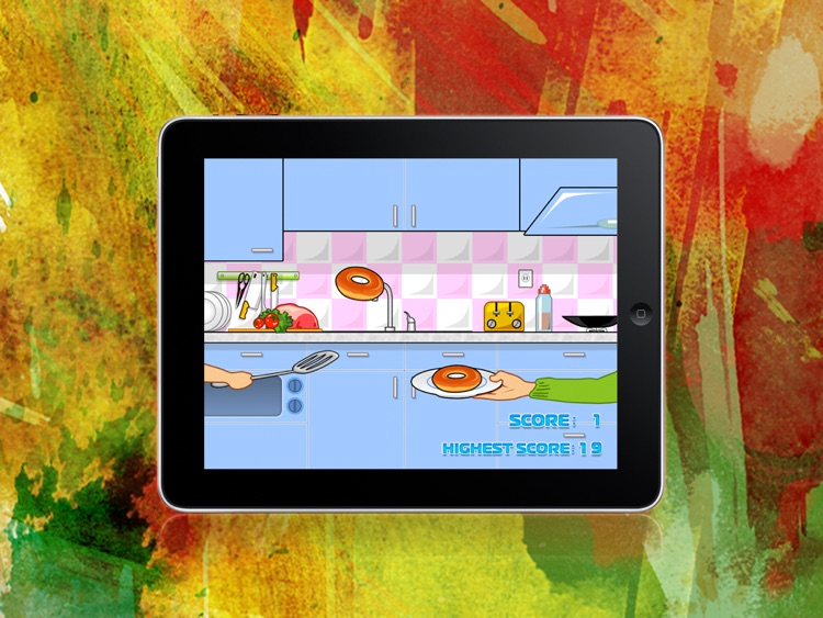 """Catch the Donut Game Lite """"iPad Edition"""""""