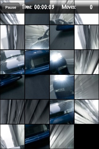 Cars Puzzle Lite screenshot-4
