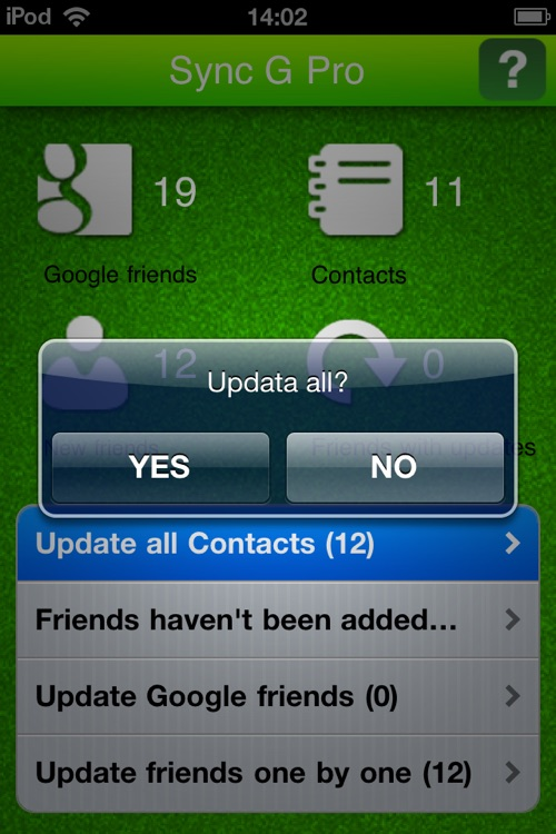Contacts Sync for Google screenshot-3