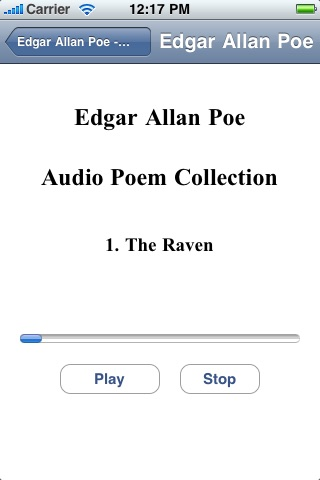 Edgar Allan Poe - Audio Poem Collection