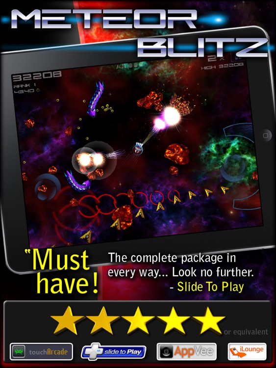 Meteor Blitz HD Free screenshot-0