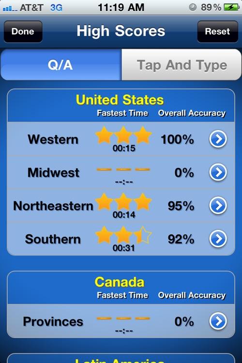 TapQuiz Maps World Edition screenshot-4