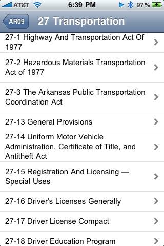 Arkansas Code of 1987 ARCode09 screenshot-3