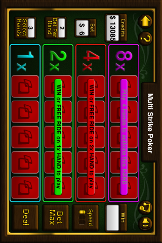 Video Poker Free screenshot three