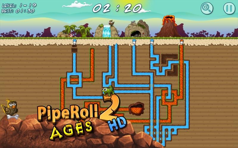 PipeRoll 2 Ages HD  Screenshot