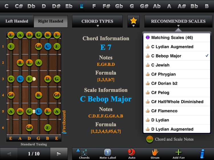 Guitar Chords, Triads & Quiz screenshot-2