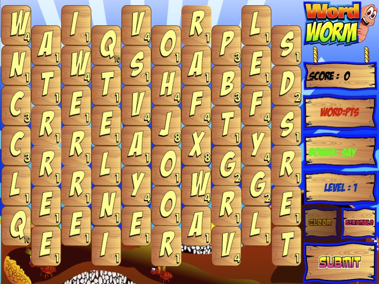 Word Worm for iPad screenshot-3