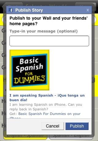 Basic Spanish For Dummies screenshot-1