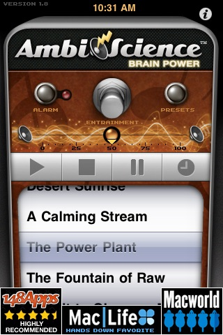 Brain Power | AmbiScience™ • Binaural & Isochronic Ambient Mind Utility